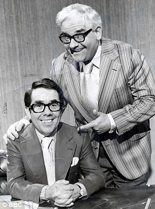 Comedy duo:Barker wrote sketches where all the laughter came out of internal rhymes in sentences