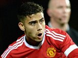 MANCHESTER, ENGLAND - SEPTEMBER 23:  Andreas Pereira of Manchester United scores his team's second goal during the Capital One Cup Third Round match between Manchester United and Ipswich Town at Old Trafford on September 23, 2015 in Manchester, England.  (Photo by Gareth Copley/Getty Images)