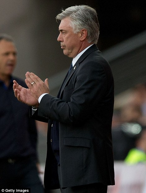 Carlo Ancelotti was earmarked to succeed Mourinho at Real Madrid when he returned to Chelsea