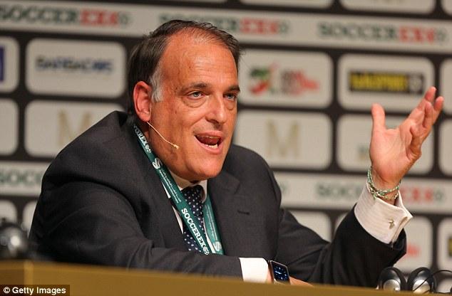 Spanish league president Javier Tebas says if Catalonia get independence then Barca can't play in La Liga