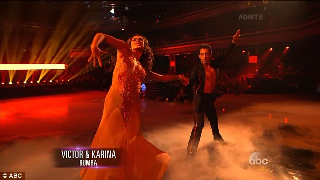 Adios!5ft2in Victor failed to impress the judges and voting fans at home with his rumba