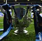 LONDON, ENGLAND - SEPTEMBER 23:  The League Cup trophy on display prior to the Capital One Cup third round match between Tottenham Hotspur and Arsenal at White Hart Lane on September 23, 2015 in London, England.  (Photo by Ian Walton/Getty Images)