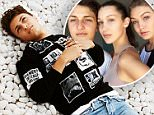 """Anwar Hadid did an exclusive shoot with NYLON for the October It Girl Issue as part of """"Guys We Heart"""" series. Amidst posing, pop-ins from his celebrity model family, a grammy winning producer, and even a visit from a Jenner, the teen-on-the-rise dishes on family, manners and future plans. """"My sisters are awesome. They probably taught me everything I need to know about girls..."""" For more of the shoot and to read the full interview, check out the piece, now live on NYLON.com. \n \nUse of this feature is contingent upon including a link back to NYLON.com: http://www.nylon.com/articles/anwar-hadid-interview\n"""