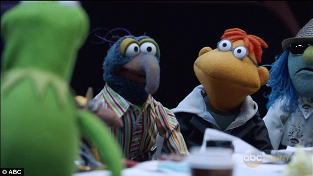 The staff: Gonzo is the show's head writer while Scooter is delegated to take care of the talent