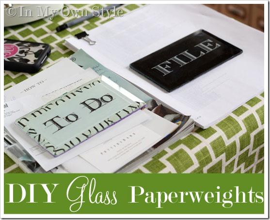 Decoupaged-Glass-Paperweight
