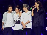 One Direction\nOne Direction concert, O2 Arena, London. 24 Sep 2015\nPic: DFS/ David Fisher/ Rex Shutterstock