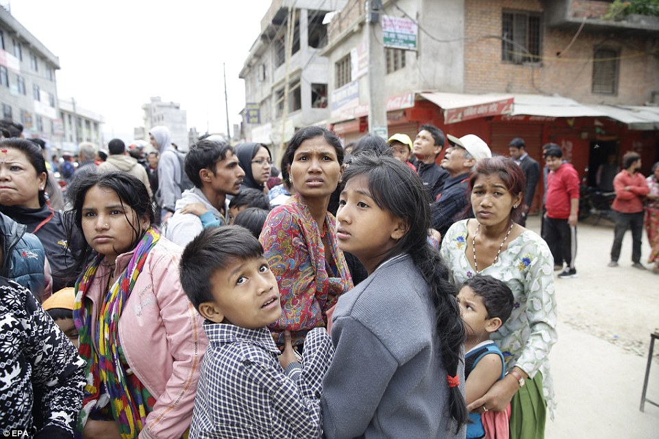Locals who live in Kathmandu are in shock after losing their homes and, for some, their loved ones in the earthquake
