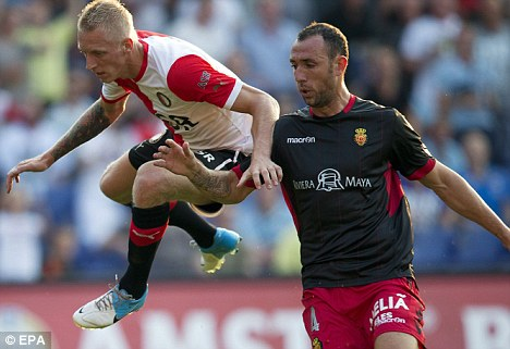 Wigan bound: Ivan Ramis (right) is set to complete a move to the DW Stadium