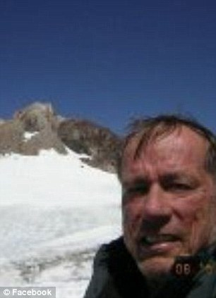The 64-year-old is an experienced climber but believed that he might have made a fatal error in his descent of the Dog Tooth Peak