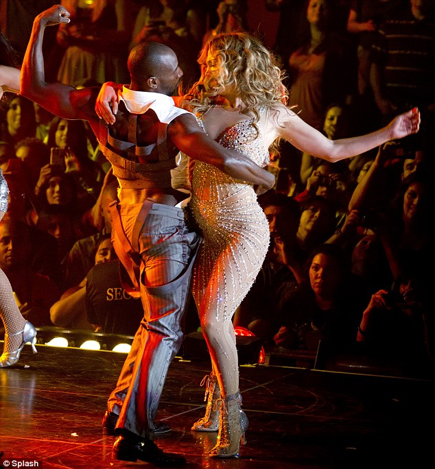 Lambada: JLo performed fan favourites Get Right, On the Floor, Jenny From the Block, and a stripped acoustic version of If You Had My Love, which was her first hit record in 1999