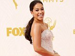Mandatory Credit: Photo by Jim Smeal/REX Shutterstock (5120765bd)  Gina Rodriguez  67th Primetime Emmy Awards, Arrivals, Los Angeles, America - 20 Sep 2015