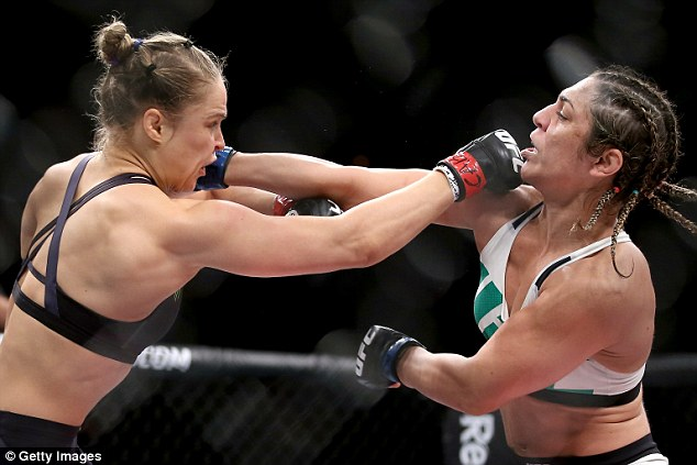 Rousey is currently unbeaten in UFC, with 11 of her 12 wins under the banner coming inside the opening round
