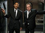 No Merchandising. Editorial Use Only. No Book Cover Usage.. Mandatory Credit: Photo by Snap Stills/REX Shutterstock (1934883aw).. Will Smith and Tommy Lee Jones.. Men In Black 3 - 2012.. ..