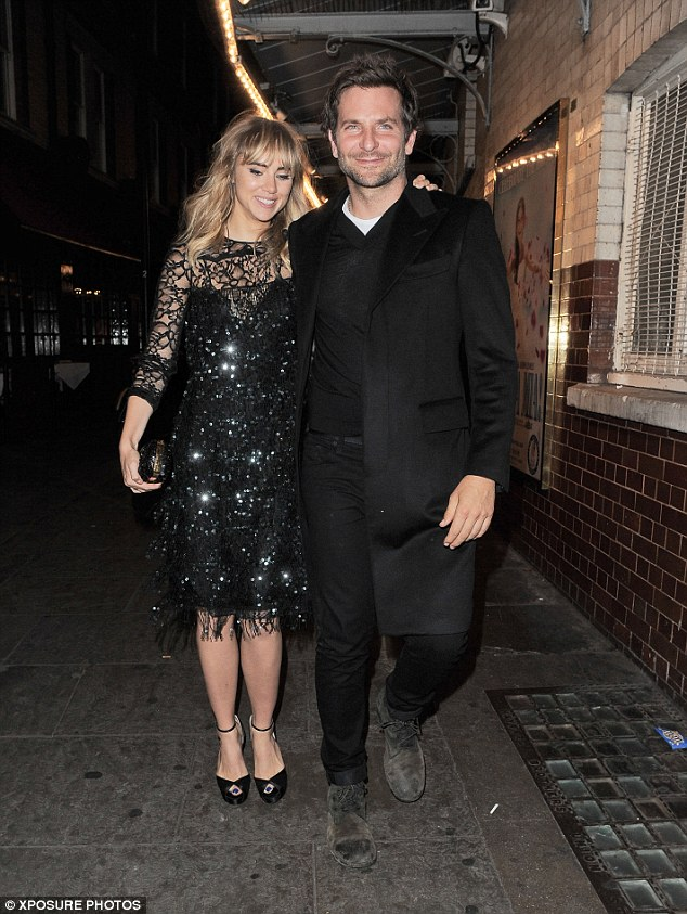 Age is not an issue: It was not the singer's young age that put Bradley off, as the star's current girlfriend Suki Waterhouse is 23. The couple are seen here out in London in September