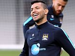 Manchester City FC via Press Association Images MINIMUM FEE 40GBP PER IMAGE - CONTACT PRESS ASSOCIATION IMAGES FOR FURTHER INFORMATION. Manchester City's Sergio Aguero