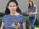 Picture Shows: Jennifer Garner  September 24, 2015\n \n Newly single actress and busy mom Jennifer Garner is spotted out and about in Pacific Palisades, California. Jennifer, who recently called it quits with her husband Ben Affleck, could be seen without her wedding ring during the outing.\n \n Non Exclusive\n UK RIGHTS ONLY\n \n Pictures by : FameFlynet UK � 2015\n Tel : +44 (0)20 3551 5049\n Email : info@fameflynet.uk.com
