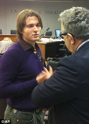 Raffaele Sollecito faces being jailed for a second time if found guilty of the 2007 murder of Meredith Kercher