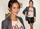 Mandatory Credit: Photo by Startraks Photo/REX Shutterstock (5168521y)\n Jamie Chung, Tika Sumpter, Dascha Polanco\n NFL Style Showdown and Unveiling of Super Bowl 50 Apparel, New York, America - 24 Sep 2015\n NFL Hosts Style Showdown and Exclusive Unveiling of Super Bowl 50 Apparel\n