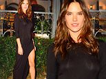 Sao Paulo, Brazil - Alessandra Ambrosio does it again, this time while attending her best friend Matheus Massafera birthday party wearing a black maxi slit dress and black leather peep toe booties.\nAKM-GSI        September 23, 2015\nTo License These Photos, Please Contact :\nSteve Ginsburg\n(310) 505-8447\n(323) 423-9397\nsteve@akmgsi.com\nsales@akmgsi.com\nor\nMaria Buda\n(917) 242-1505\nmbuda@akmgsi.com\nginsburgspalyinc@gmail.com