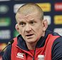 Rugby Union - England Press Conference - Twickenham Stadium - 25/9/15  England forwards coach Graham Rowntree during the press conference  Action Images via Reuters / Henry Browne  Livepic