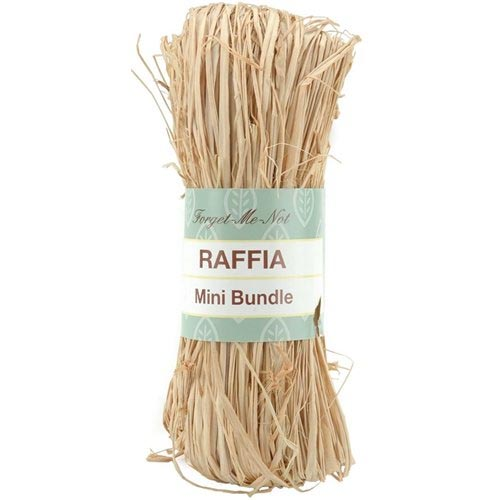 raffia for country style decorating