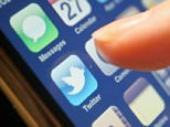 A stock photo of a mobile phone showing Twitter app.  PA pic reuploaded by Matt