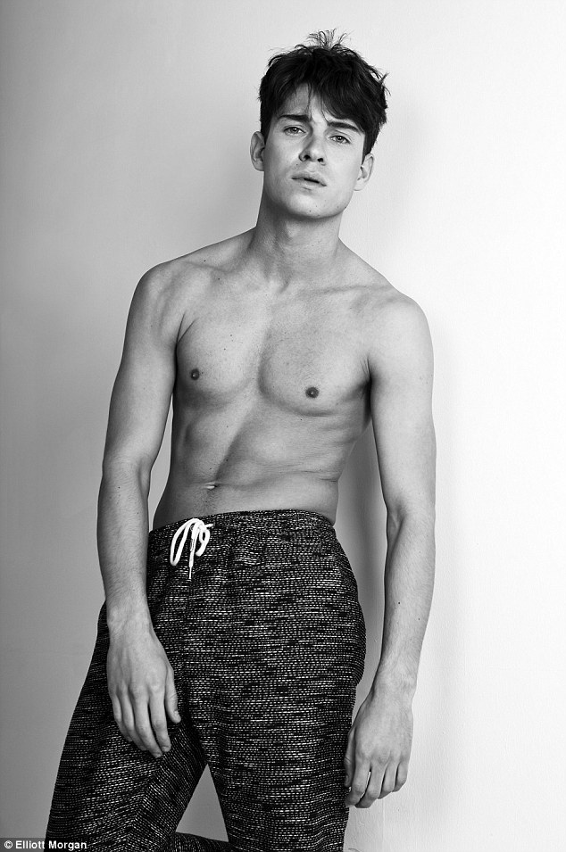 Big deal: Joey has been busy being signed to Select Model Management's Special Division