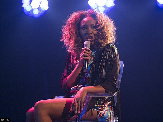 Where's the soul? Sasha Simone failed to impress with her version of David Guetta's What I Did For Love
