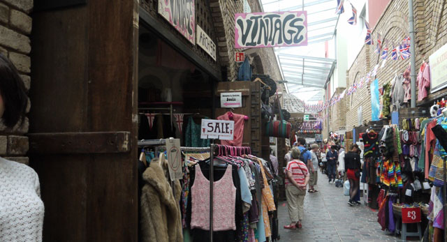 Vintage stores in London