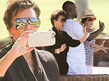 EXCLUSIVE TO INF.\nSeptember 23, 2015: Kris Jenner with mom Mary Jo Campbell and boyfriend Corey Gamble enjoy the scenery of the Torrey Pines Golf Course.  Kris also took a group selfie with mom and friend, San Diego, CA.\nMandatory Credit: Mariotto/Borisio/INFphoto.com Ref.: infusla-244/277