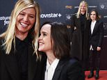 Ellen Page, Samantha Thomas attends 'Freeheld' premiere during 63rd San Sebastian International Film Festival  Ref: SPL1135899  240915   Picture by: Splash News  Splash News and Pictures Los Angeles: 310-821-2666 New York: 212-619-2666 London: 870-934-2666 photodesk@splashnews.com