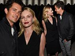Mandatory Credit: Photo by Buckner/WWD/REX Shutterstock (5168498av)\n Kate Bosworth and Orlando Bloom\n Dior Homme Cocktail Reception, Los Angeles, America - 24 Sep 2015\n \n