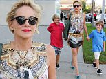 Pictured: Sharon Stone,  Roan Joseph Bronstein, Quinn Kelly Stone\nMandatory Credit � DRILA/Broadimage\nSharon Stone and sons out and about in West Hollywood\n\n9/24/15, West Hollywood, California, United States of America\n\nBroadimage Newswire\nLos Angeles 1+  (310) 301-1027\nNew York      1+  (646) 827-9134\nsales@broadimage.com\nhttp://www.broadimage.com\n