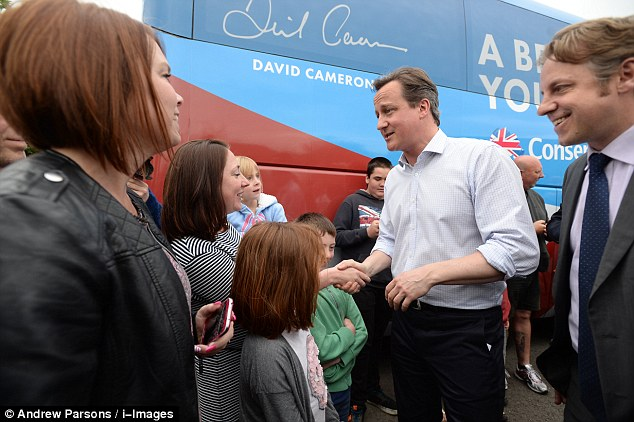Mr Cameron said he made 'no apology' for focussing on the threat posed by the SNP in the election next month