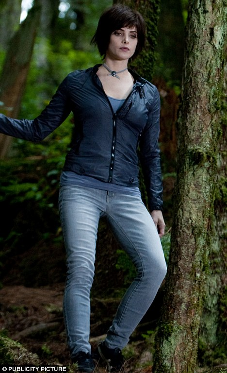 Household name: Ashley stars as Alice Cullen in the vampire series
