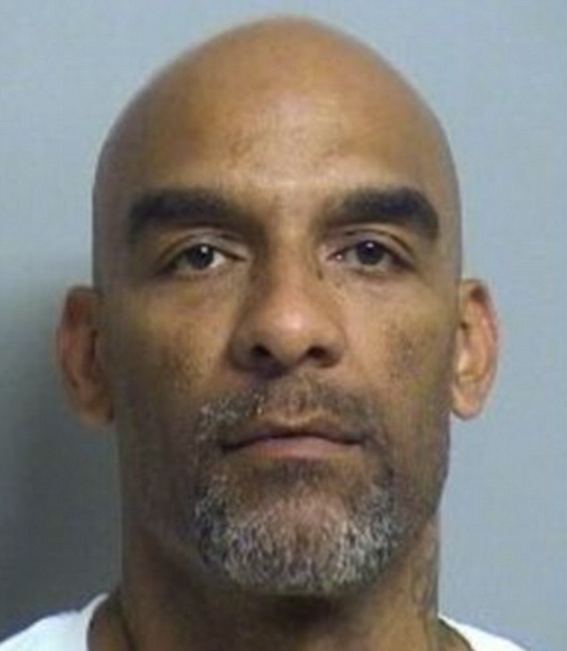 Killed: Eric Harris, 44, was allegedly meeting with undercover deputies to buy a 9 mm semi-automatic pistol