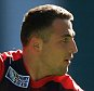 England's Sam Burgess during a training session at Twickenham Stadium, London. PRESS ASSOCIATION Photo. Picture date: Friday September 25, 2015. See PA story RUGBYU England. Photo credit should read: Mike Egerton/PA Wire. RESTRICTIONS: Editorial use only. Strictly no commercial use or association without RWCL permission. Still image use only. Use implies acceptance of Section 6 of RWC 2015 T&Cs at: http://bit.ly/1MPElTL Call +44 (0)1158 447447 for further info.