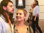 """EXCLUSIVE: Dianna Agron puts her arm around boyfriend Winston Marshall as they line up to see """"Hamilton"""" musical on Broadway, New York City.\n\nPictured: Dianna Agron and boyfriend Winston Marshall\nRef: SPL1135762  240915   EXCLUSIVE\nPicture by: Splash News\n\nSplash News and Pictures\nLos Angeles: 310-821-2666\nNew York: 212-619-2666\nLondon: 870-934-2666\nphotodesk@splashnews.com\n"""