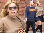 EXCLUSIVE: September 24th 2015: Scout Willis and boyfriend seen out and about in New York City, USA.\n\nPictured: Scout Willis\nRef: SPL1132406  240915   EXCLUSIVE\nPicture by: GSNY / Splash News\n\nSplash News and Pictures\nLos Angeles: 310-821-2666\nNew York: 212-619-2666\nLondon: 870-934-2666\nphotodesk@splashnews.com\n