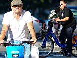 Leonardo DiCaprio and Jonah Hill are seen biking on city bikes in NYC\n\nPictured: Leonardo DiCaprio and Jonah Hill \nRef: SPL1135772  240915  \nPicture by: JDH Imagez / Splash News\n\nSplash News and Pictures\nLos Angeles: 310-821-2666\nNew York: 212-619-2666\nLondon: 870-934-2666\nphotodesk@splashnews.com\n