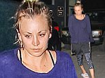 Studio City, CA - Makeup free Kaley Cuoco leaves a late yoga session in Studio City.   AKM-GSI  September 24, 2015 To License These Photos, Please Contact : Steve Ginsburg (310) 505-8447 (323) 423-9397 steve@akmgsi.com sales@akmgsi.com or Maria Buda (917) 242-1505 mbuda@akmgsi.com ginsburgspalyinc@gmail.com