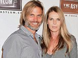 SANTA MONICA, CA - NOVEMBER 05:  Casper Van Dien (L) and Catherine Oxenberg attend the Asylum's 15th anniversary at Pacific Park, Santa Monica Pier on November 5, 2012 in Santa Monica, California.  (Photo by Tibrina Hobson/WireImage)