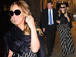 Mariah Carey and James Packer enjoy date night at Nobu in Midtown this evening....Pictured: Mariah Carey, James Packer..Ref: SPL1136129  240915  ..Picture by: BlayzenPhotos / Splash News....Splash News and Pictures..Los Angeles: 310-821-2666..New York: 212-619-2666..London: 870-934-2666..photodesk@splashnews.com..