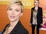 """NEW YORK, NY - SEPTEMBER 24: Scarlett Johansson attends the """"He Named Me Malala"""" premiere at Ziegfeld Theater on September 24, 2015 in New York City.  (Photo by Taylor Hill/FilmMagic)"""