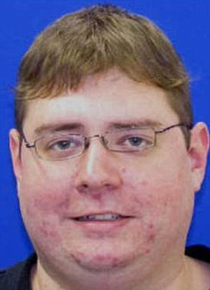 Scare: Neil E. Prescott, 28, made the alarming comments to colleagues last week at his workplace in Crofton, Maryland