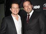"HOLLYWOOD, CA - NOVEMBER 07:  Actors Matt Damon and Ben Affleck attend the ""Project Greenlight"" event at Boulevard3 on November 7, 2014 in Hollywood, California.  (Photo by Jason LaVeris/FilmMagic)"