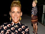 "LOS ANGELES, CA - SEPTEMBER 24:  Actress Busy Philipps in LOFT celebrates the launch of ""A Very Busy Fall"" on September 24, 2015 in Los Angeles, California.  (Photo by Michael Kovac/WireImage)"