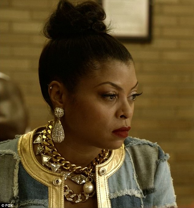 Jail visit: Lucious proclaimed his love for Cookie when she came to prison seeking his help