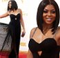 Taraji P. Henson arrives at the 67th Primetime Emmy Awards on Sunday, Sept. 20, 2015, at the Microsoft Theater in Los Angeles. (Photo by Richard Shotwell/Invision/AP)