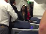 """EXCLUSIVE: **NO USA TV AND NO USA WEB**Azalea Banks is seen tussling with flight attendant attempting to retrieve her bag and exit the plane after a flight for New York to LAX. The video shows as Banks argues who flight attendant calling him (attendant) a """"f***ing F**ot. Co-pilot eventually showed up and told Banks that police were called, which led her to rush off the plane. Azalea allegedly had an argument with french couple who blocked her from retrieving her bag from overhead bin. Police eventually caught up with Azalea at the baggage claim, no charges were pressed as french passengers were on vacation and didn't care for the hassle.   Pictured: Azalea Banks Ref: SPL1134185  220915   EXCLUSIVE Picture by: TMZ.com / Splash News  Splash News and Pictures Los Angeles: 310-821-2666 New York: 212-619-2666 London: 870-934-2666 photodesk@splashnews.com"""